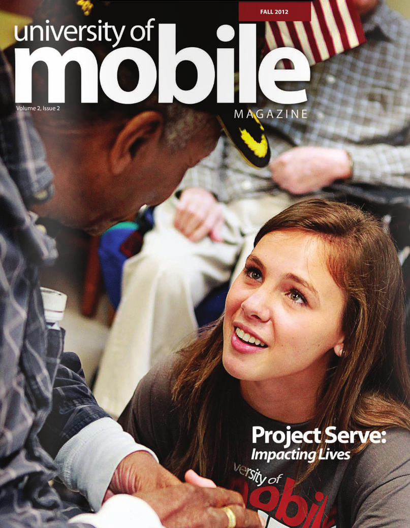 University of Mobile mag cover