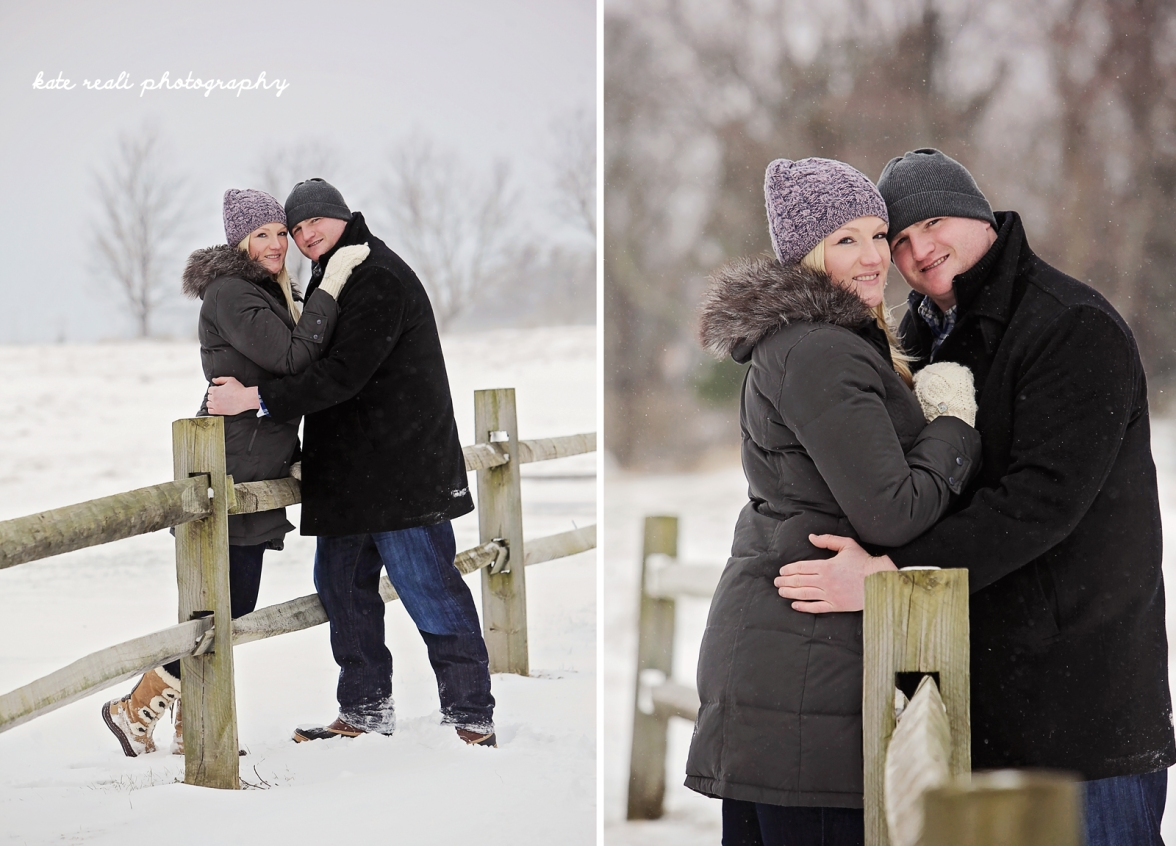 a kate reali engagement winter 1